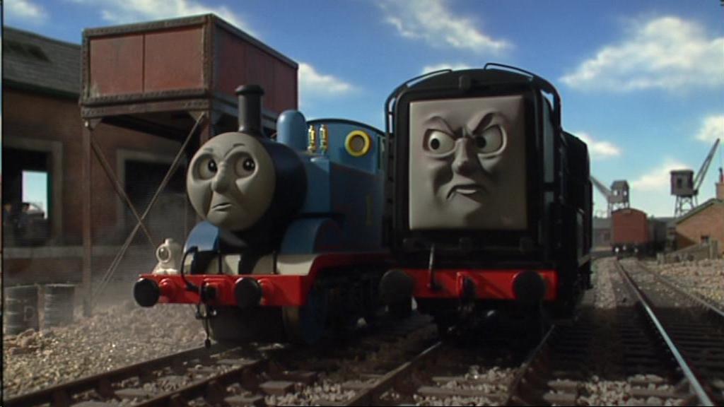 Beautiful Trainwreck Angry Train