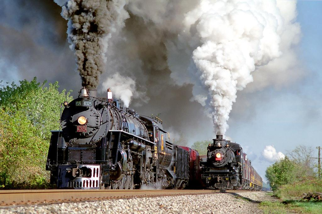 Beautiful Trainwreck Two Trains
