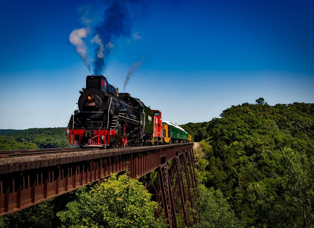 Beautiful Trainwreck bridge