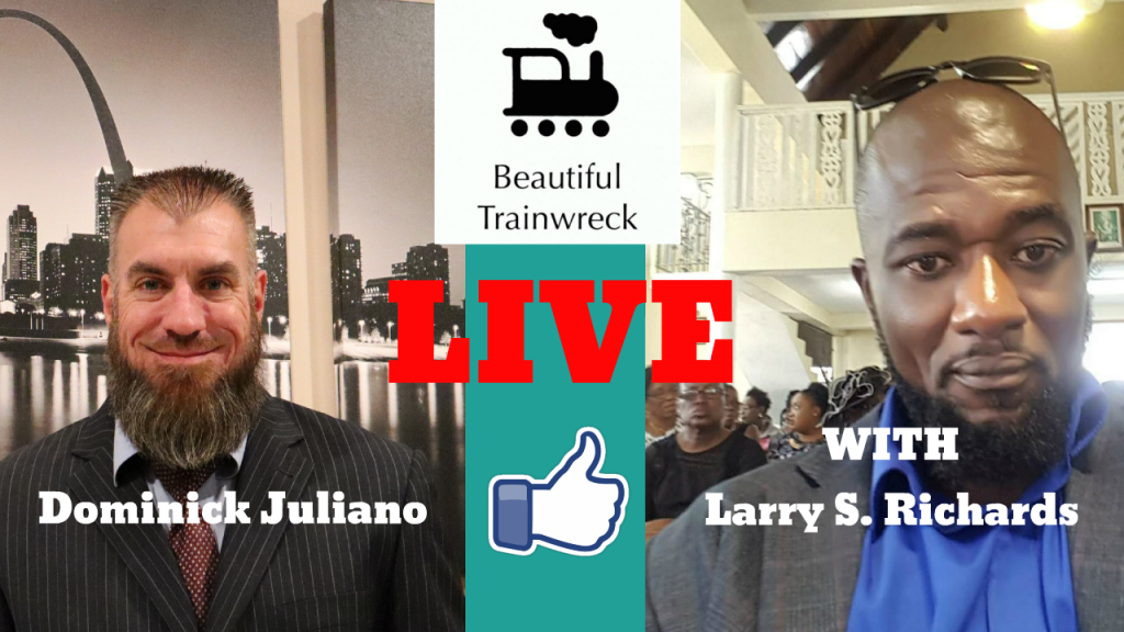 Beautiful Trainwreck LIVE with Larry Silvert Richards