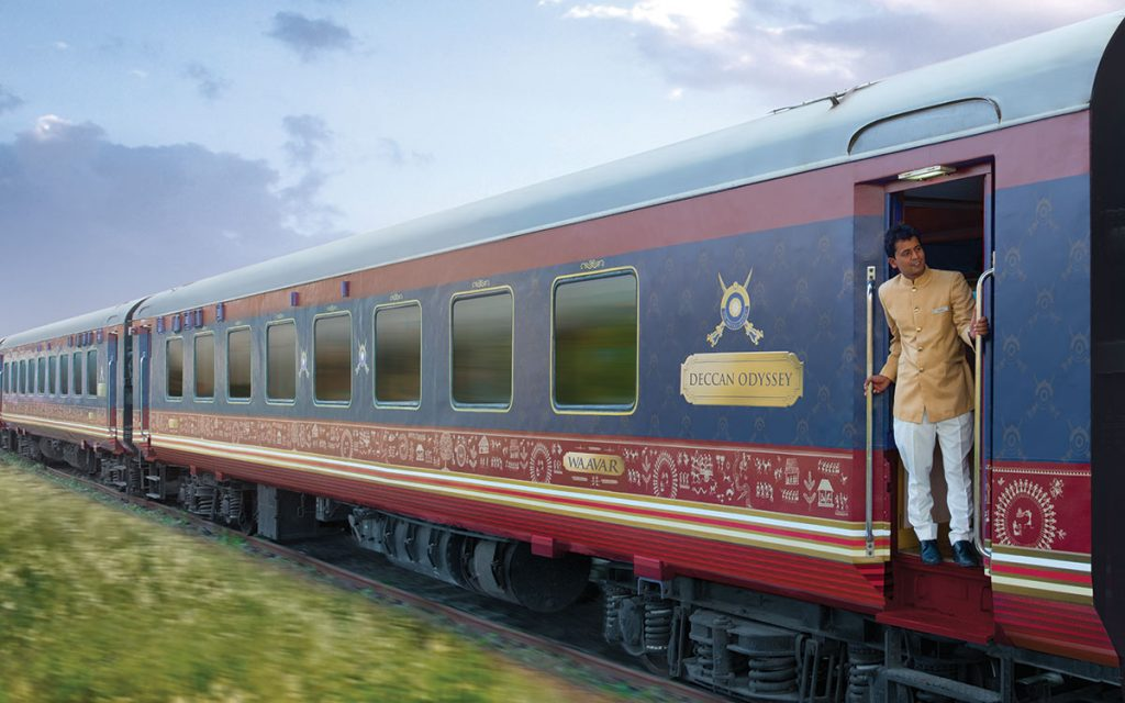 Beautiful Trainwreck LuxuryIndiaTrain