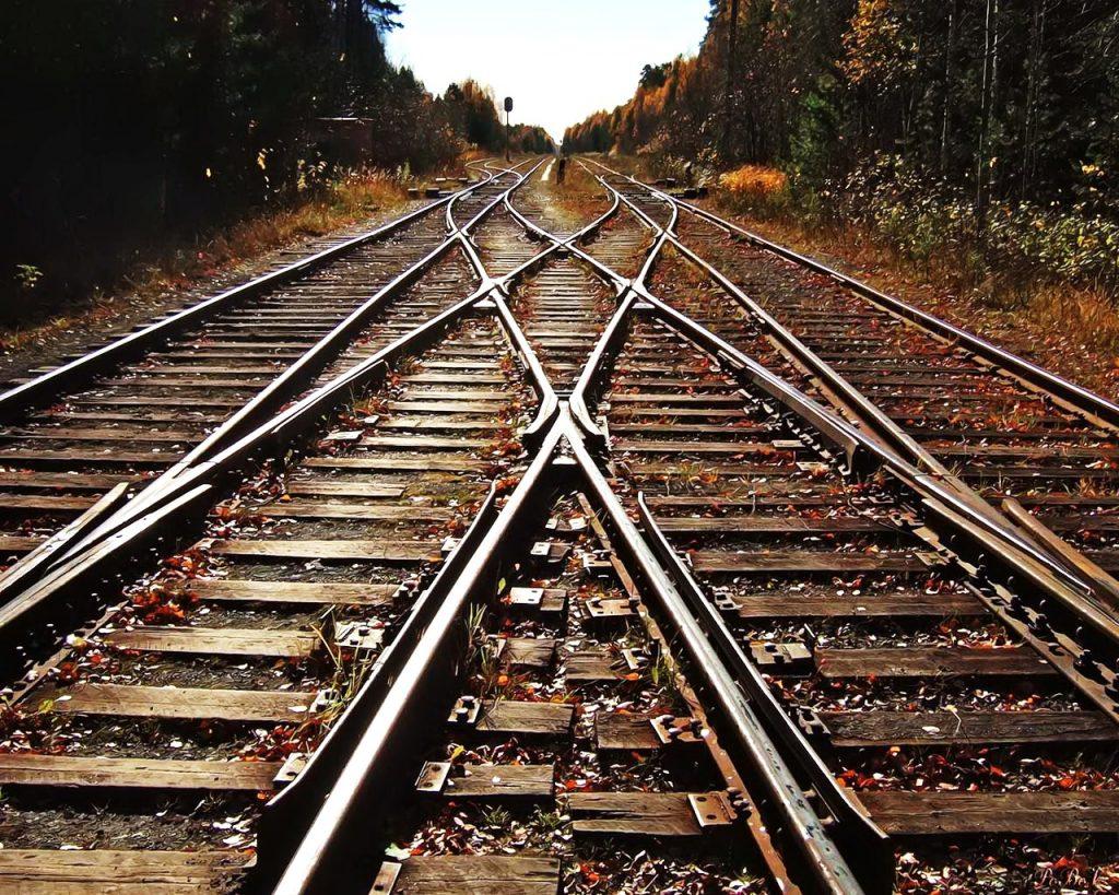 Beautiful Trainwreck Tracks merge